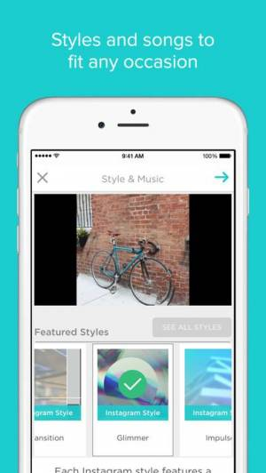 iPhone、iPadアプリ「Slideshow Creator」のスクリーンショット 2枚目