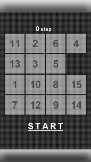 iPhone、iPadアプリ「16 puzzle -white-」のスクリーンショット 3枚目