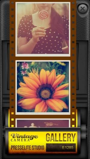 iPhone、iPadアプリ「Vintage Camera Pro」のスクリーンショット 4枚目