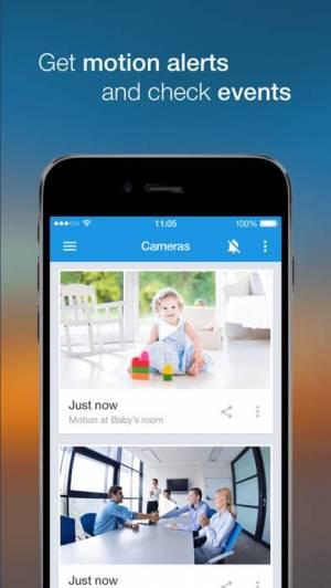 iPhone、iPadアプリ「Ivideon 監視カメラ」のスクリーンショット 4枚目