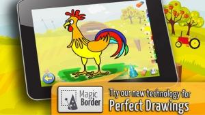 iPhone、iPadアプリ「農場 : 子供のためのゲーム : パズルとカラー」のスクリーンショット 3枚目