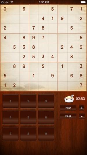iPhone、iPadアプリ「頭脳パズルゲーム、「ナンプレ」無料」のスクリーンショット 1枚目