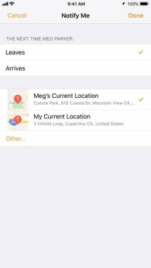 iPhone、iPadアプリ「友達を探す」のスクリーンショット 4枚目