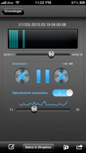 iPhone、iPadアプリ「Dream Talk Recorder Pro」のスクリーンショット 3枚目