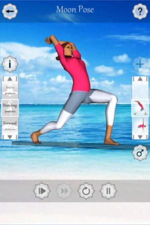 iPhone、iPadアプリ「ヨガ・フィットネスは (Yoga Fitness 3D)」のスクリーンショット 2枚目