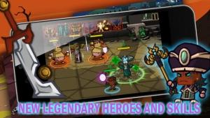 iPhone、iPadアプリ「ヒーロー vs モンスター」のスクリーンショット 2枚目