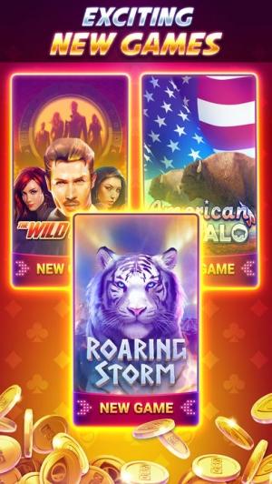 iPhone、iPadアプリ「GSN Casino - オンラインカジノスロットゲーム」のスクリーンショット 2枚目
