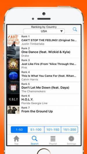 iPhone、iPadアプリ「MyPV:音楽動画 無料連続再生!人気ランキングでミュージックビデオをプレイリスト再生するプレイヤー」のスクリーンショット 2枚目