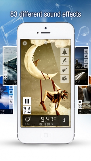 iPhone、iPadアプリ「Sleep Bug Pro: White Noise Soundscapes & Music Box」のスクリーンショット 2枚目