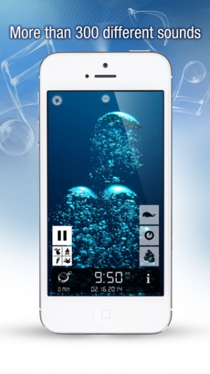 iPhone、iPadアプリ「Sleep Bug Pro: White Noise Soundscapes & Music Box」のスクリーンショット 3枚目
