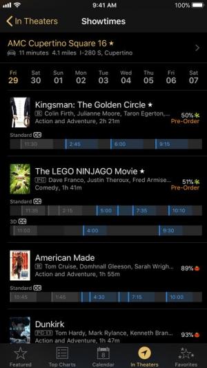 iPhone、iPadアプリ「iTunes Movie Trailers」のスクリーンショット 5枚目