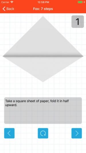 iPhone、iPadアプリ「How to Make Origami」のスクリーンショット 4枚目