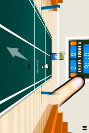 iPhone、iPadアプリ「3D Badminton」のスクリーンショット 3枚目