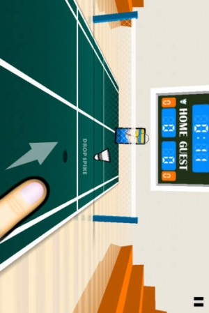 iPhone、iPadアプリ「3D Badminton」のスクリーンショット 2枚目