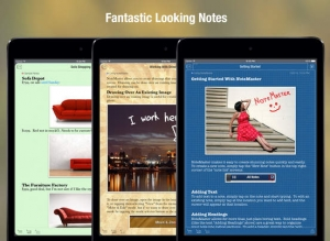 iPhone、iPadアプリ「NoteMaster Lite for iPad - Amazing notes synced with Dropbox or Google Drive」のスクリーンショット 4枚目