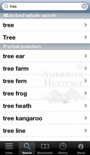 iPhone、iPadアプリ「アメリカンヘリテージ® 英英辞典」のスクリーンショット 4枚目