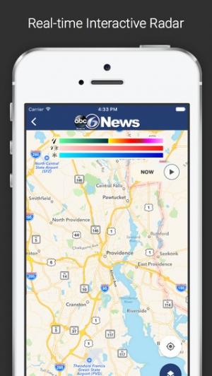 iPhone、iPadアプリ「ABC 6 (WLNE–TV)」のスクリーンショット 4枚目