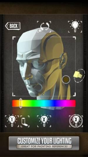 iPhone、iPadアプリ「Handy Art Reference Tool」のスクリーンショット 3枚目
