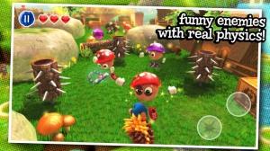 iPhone、iPadアプリ「Crazy Hedgy - Beat 'em up 3D Platformer」のスクリーンショット 2枚目