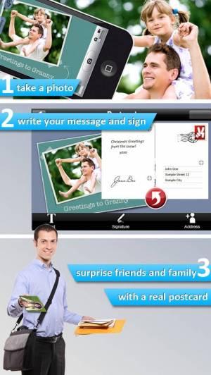 iPhone、iPadアプリ「PHOTO2cards」のスクリーンショット 4枚目