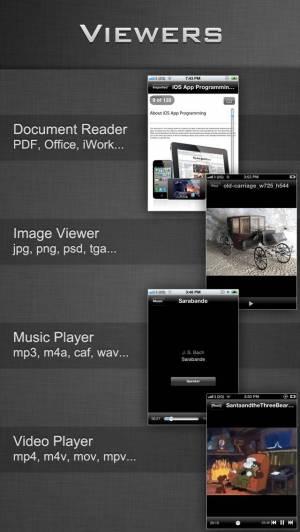 iPhone、iPadアプリ「File Manager - Folder Plus」のスクリーンショット 2枚目