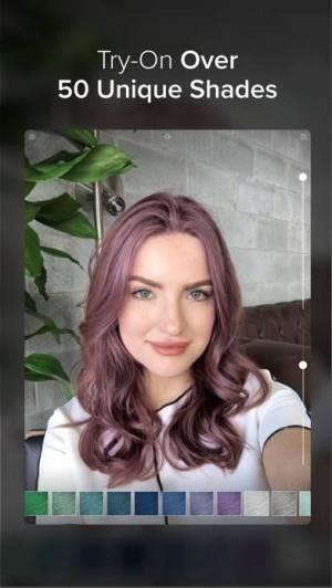iPhone、iPadアプリ「Hair Color」のスクリーンショット 4枚目