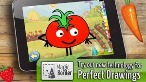 iPhone、iPadアプリ「果物や野菜: 子供のためのゲーム 赤ちゃん - 無料 - 教育の」のスクリーンショット 1枚目