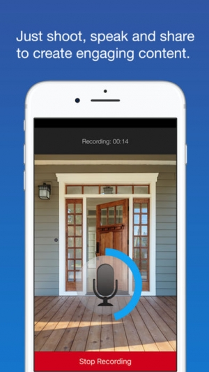 iPhone、iPadアプリ「SpeakingPhoto」のスクリーンショット 1枚目