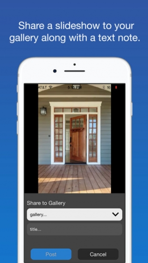 iPhone、iPadアプリ「SpeakingPhoto」のスクリーンショット 5枚目