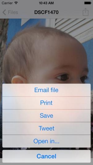 iPhone、iPadアプリ「FastZip - ZIP, unZIP and unRAR」のスクリーンショット 4枚目