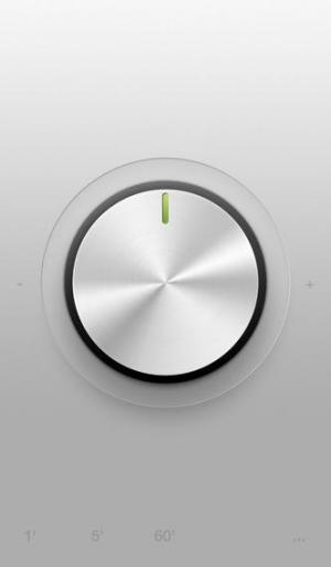 iPhone、iPadアプリ「Minimalist Timer」のスクリーンショット 1枚目