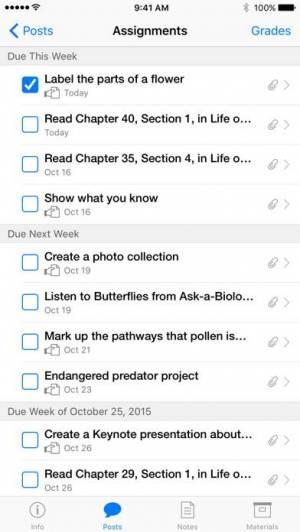 iPhone、iPadアプリ「iTunes U」のスクリーンショット 1枚目