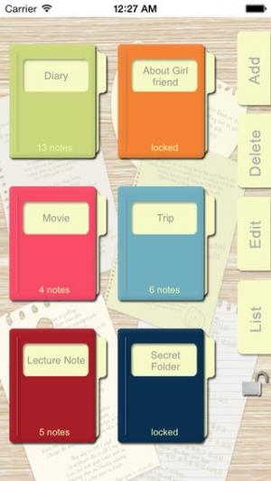 iPhone、iPadアプリ「In My Note Lite - メディアノート」のスクリーンショット 1枚目