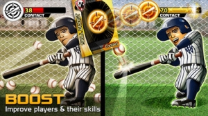 iPhone、iPadアプリ「Big Win Baseball (野球)」のスクリーンショット 2枚目