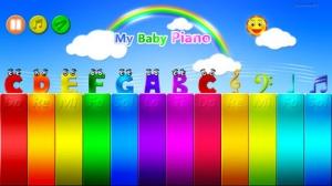 iPhone、iPadアプリ「私の赤ちゃん ピアノ」のスクリーンショット 2枚目