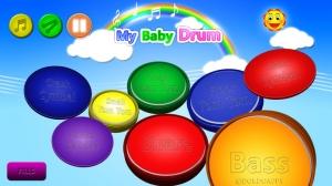 iPhone、iPadアプリ「私の赤ちゃん ドラム」のスクリーンショット 1枚目