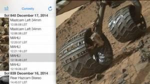iPhone、iPadアプリ「Mars Images」のスクリーンショット 5枚目