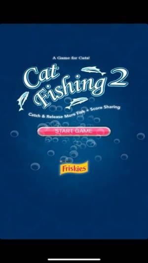 iPhone、iPadアプリ「Cat Fishing 2」のスクリーンショット 1枚目
