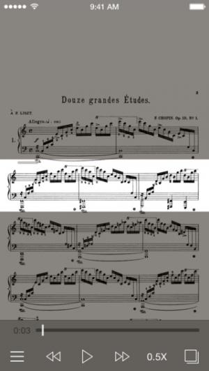 iPhone、iPadアプリ「ショパン練習曲 - シンクスコア」のスクリーンショット 1枚目