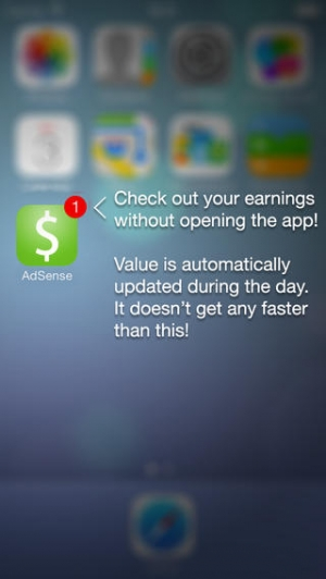 iPhone、iPadアプリ「QuickAdsense - Google Adsense App」のスクリーンショット 3枚目