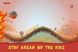 iPhone、iPadアプリ「ロケットチキン (Rocket Chicken)」のスクリーンショット 5枚目