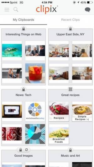 iPhone、iPadアプリ「Clipix」のスクリーンショット 3枚目