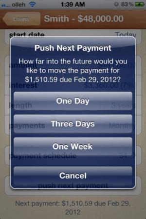 iPhone、iPadアプリ「iLoan +個人ローン」のスクリーンショット 3枚目