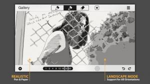 iPhone、iPadアプリ「SketchTime シンプル&クイックスケッチ」のスクリーンショット 4枚目