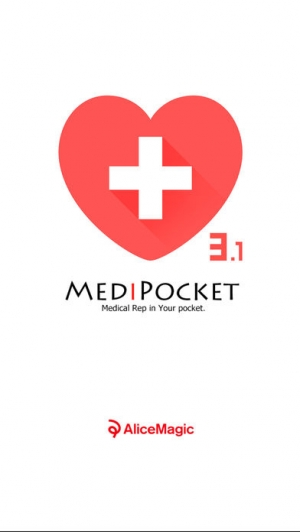 iPhone、iPadアプリ「血液処方通院管理アプリ メディポケ」のスクリーンショット 1枚目