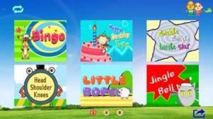 iPhone、iPadアプリ「アニメーションと英語の子供の歌B」のスクリーンショット 2枚目