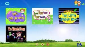iPhone、iPadアプリ「アニメーションと英語の子供の歌B」のスクリーンショット 4枚目