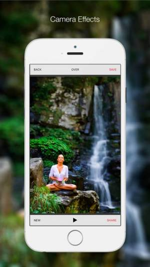 iPhone、iPadアプリ「Bitpoem - Photo Filters and Effects」のスクリーンショット 2枚目