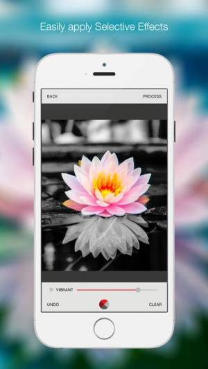 iPhone、iPadアプリ「Bitpoem - Photo Filters and Effects」のスクリーンショット 1枚目