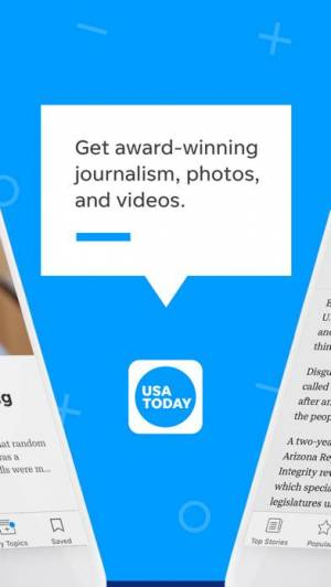 iPhone、iPadアプリ「USA TODAY - News: Personalized」のスクリーンショット 2枚目